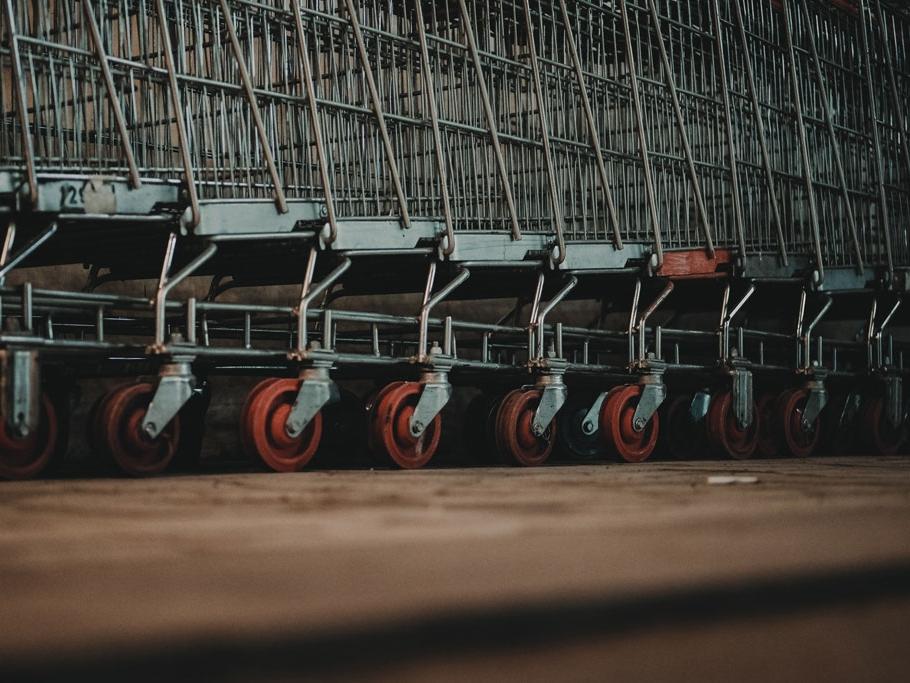 Infektionsschutz Supermarkt